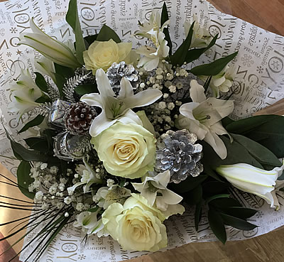 Beautiful Xmas floral bouquets, New Forest